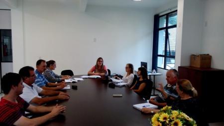 Grupo da Educação Fiscal Municipal reúne-se para dar encaminhamento às atividades para 2016