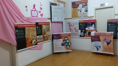 Museu Municipal realiza exposição vinculada ao Outubro Rosa
