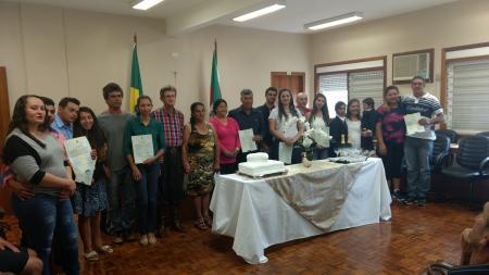 Ronda da Cidadania realiza casamento comunitário em Augusto Pestana