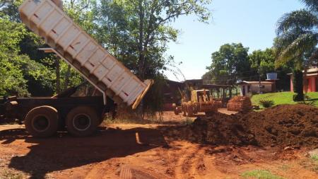 Secretaria realiza manutenção de estradas do interior