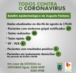 Município registra primeiro caso de Coronavírus