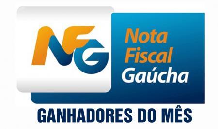 Premiados do Programa Nota Fiscal Gaúcha de setembro