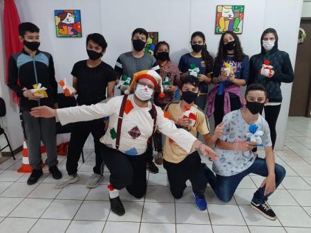 CRAS realiza atividades alusivas ao Dia da Criança